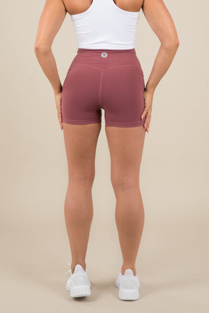 Sensation Shorts 2.0 - Rose Red
