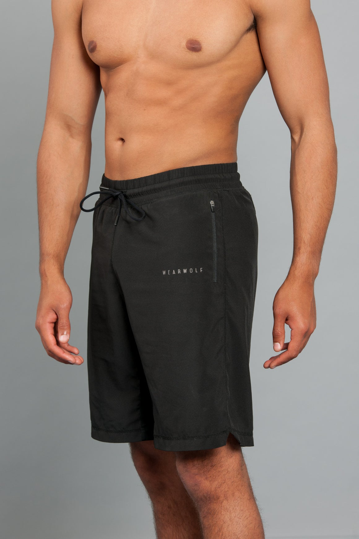 WearWolf AirTech Shorts - Black - WearWolf Clothing UK