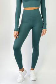 Sensation Leggings - Forest Green - WearWolf Clothing UK