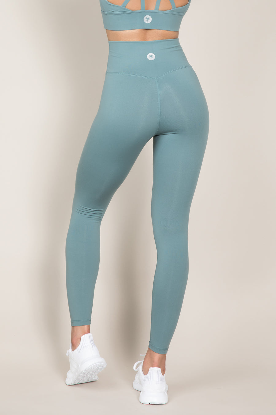 Sensation Leggings - Smokey Green