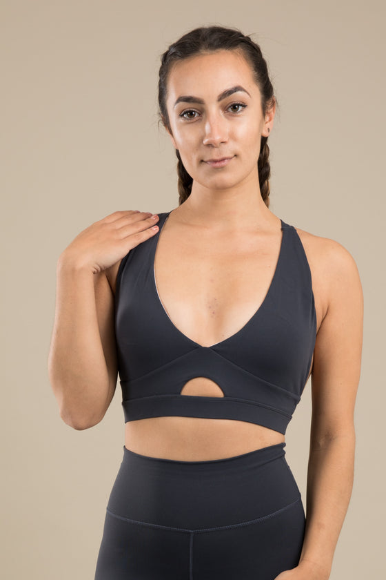 Sensation V Bra - Steel Grey