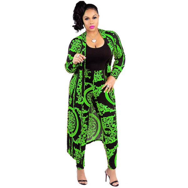 African Dashiki Two Piece With More Colors