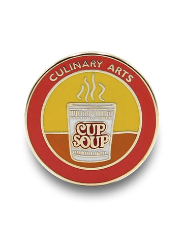 Cup of Soup Pin
