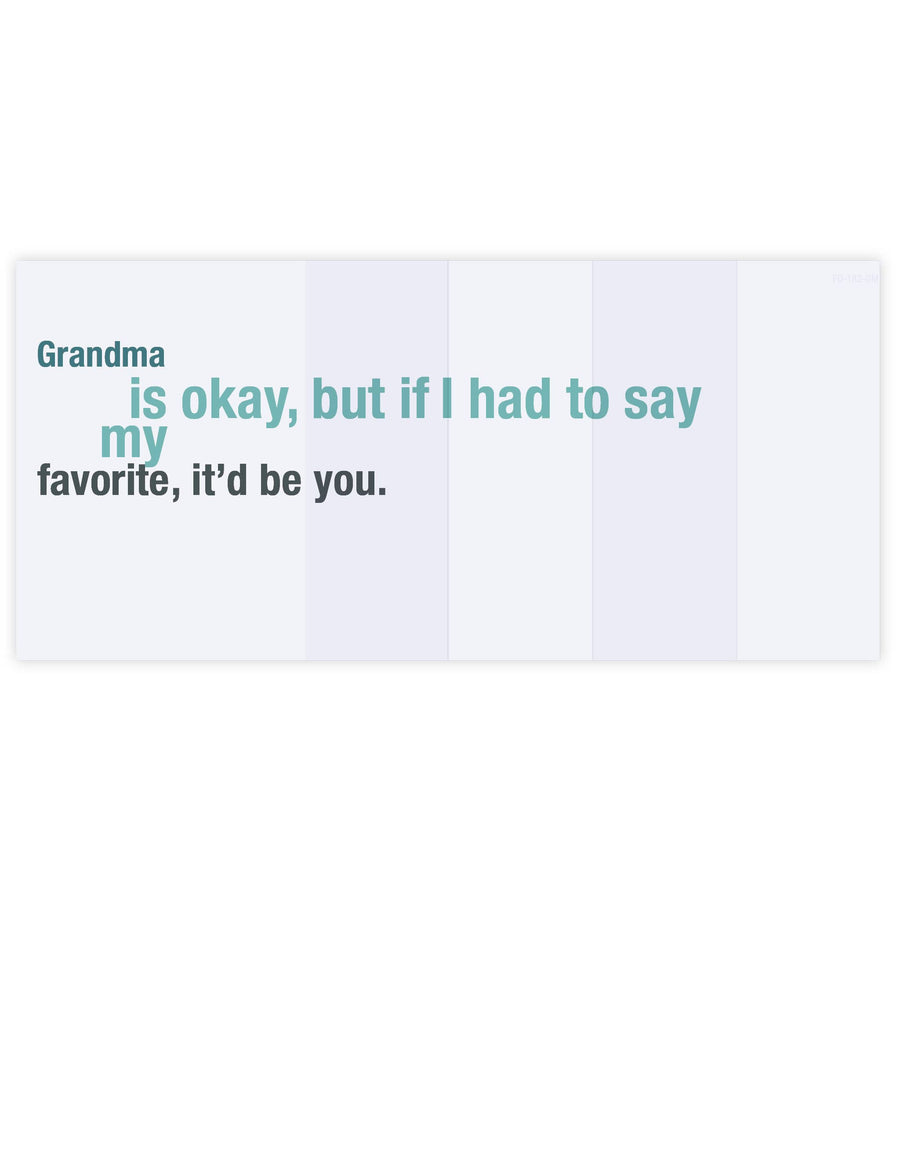 Grandma's My Favorite