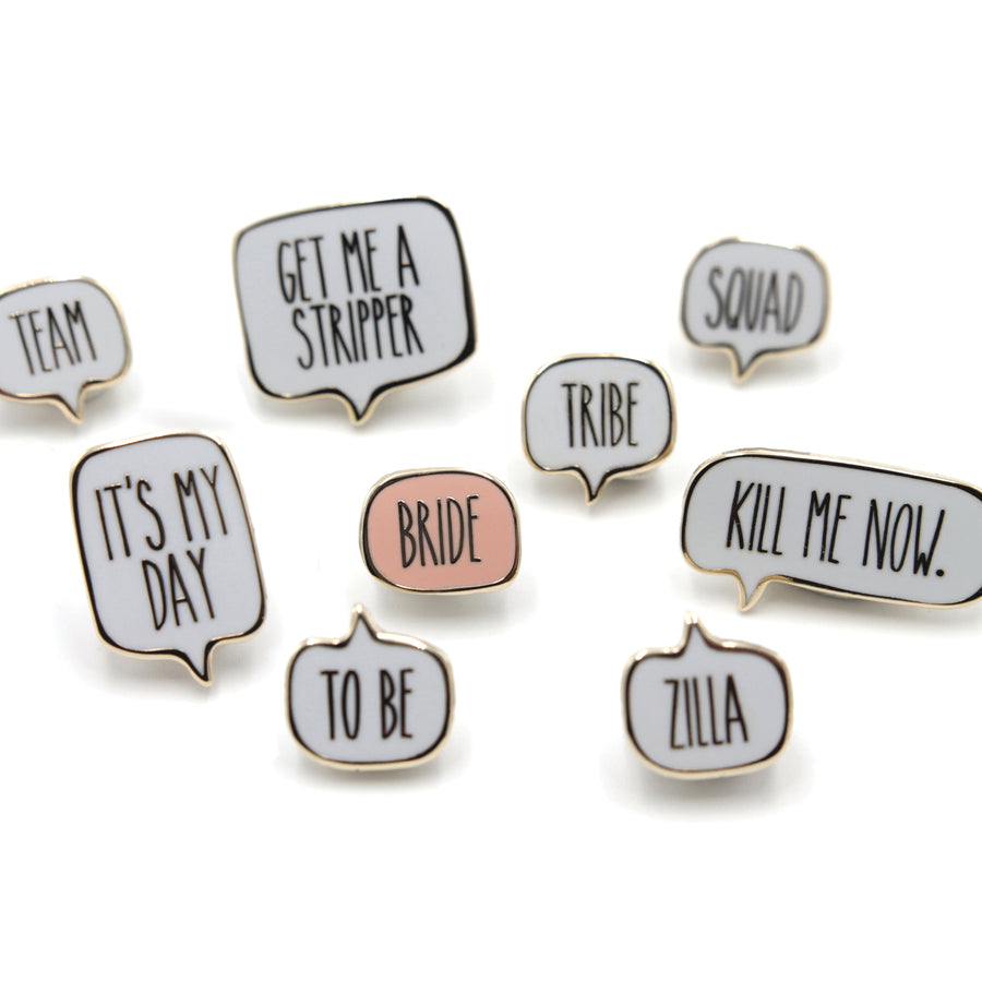 Team Bride<br> Mini Pin Set