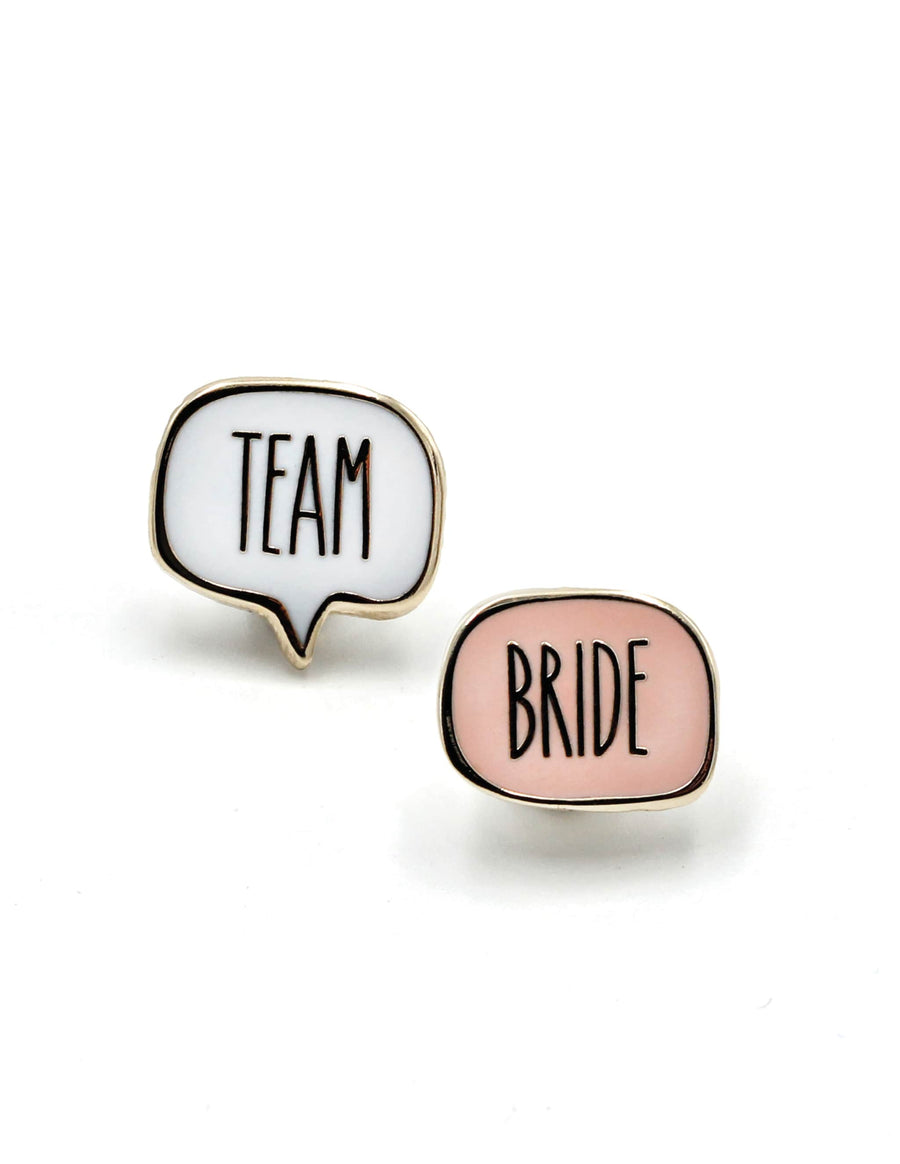 Team Bride Pin Set