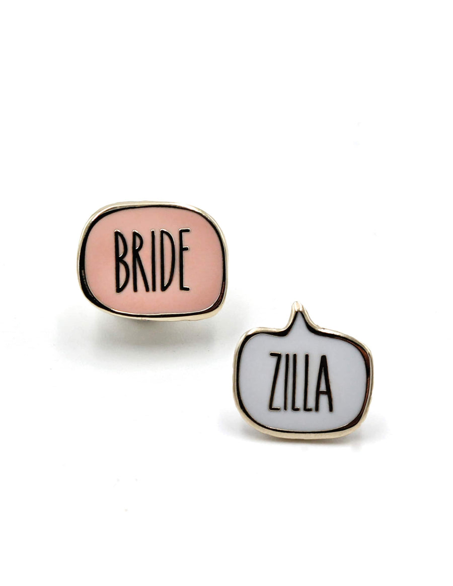 Bridezilla Pins