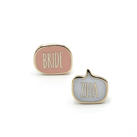 BRIDEZILLA<br>Mini Pin Set