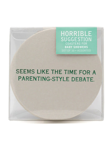 Baby Shower Funny Coasters