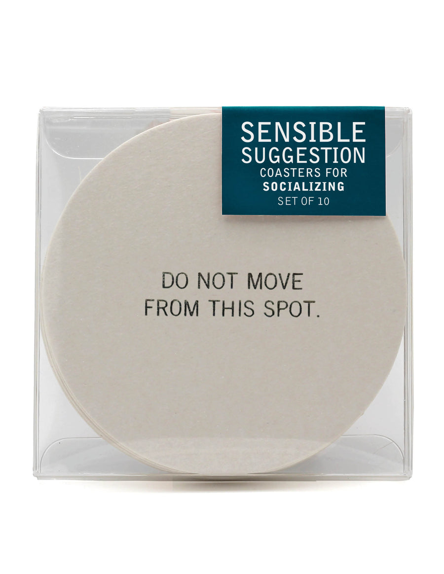 Do Not Move<br> Coaster Set