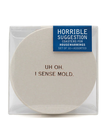 Funny Housewarming Gift - Coasters
