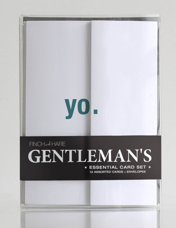 Gentleman's Essential Card Set