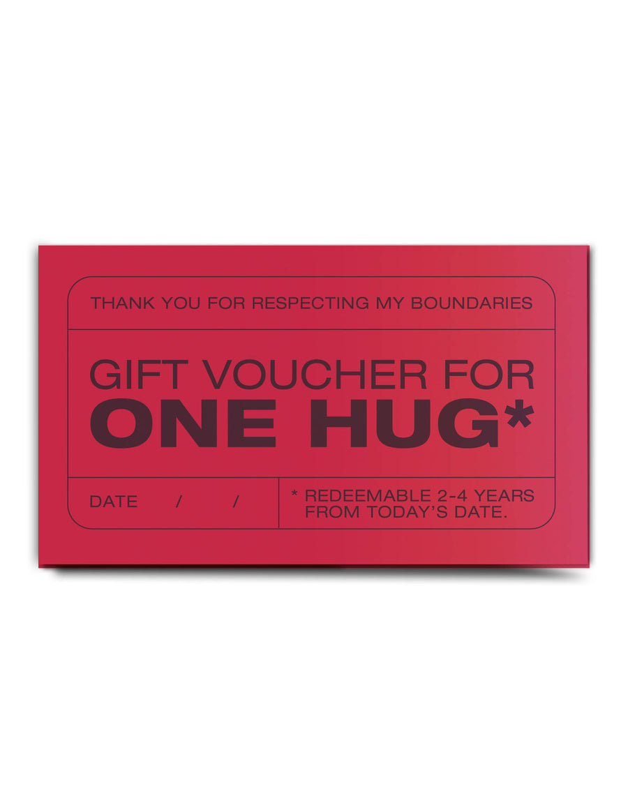 Future Hugs Voucher Book