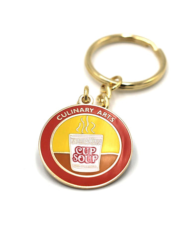Culinary Arts Cooking Keychain