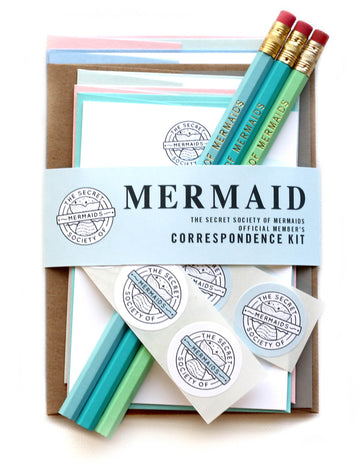 Secret Society of Mermaids Letter Kit