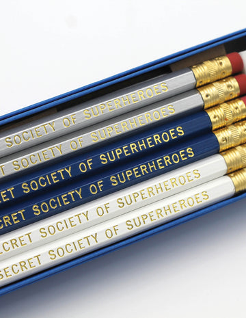 Secret Society of Superheroes Pencils