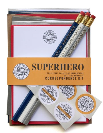 Secret Society of Superheroes Letter Kit