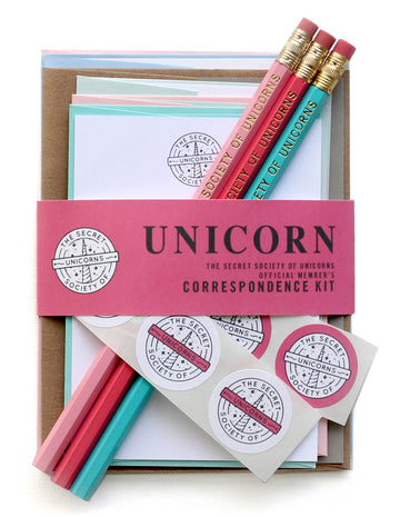 Secret Society of Unicorns Letter Kit