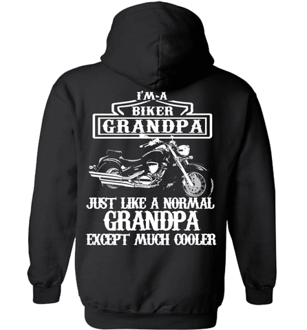 Biker Shirt - I Am A Biker Grandpa