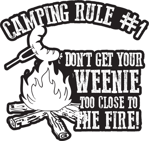 Free Camping Sticker Rule 1