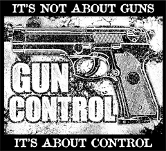 Free Gun Sticker: Gun Control - It's About Control - Bonus 2-Pack! - Shirt Loft - 2