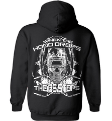 Welder Shirt - When The Hood Drops The BS Stops - Shirt Loft - 1
