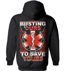 EMT Shirt - Busting Ours To Save Yours - Shirt Loft - 1
