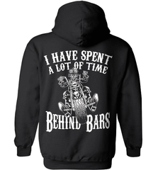 Biker Shirt - I Have Spend A Lot Of Time Behind Bars - Shirt Loft - 1