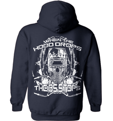 Welder Shirt - When The Hood Drops The BS Stops - Shirt Loft - 3