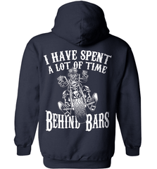 Biker Shirt - I Have Spend A Lot Of Time Behind Bars - Shirt Loft - 3