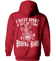 Biker Shirt - I Have Spend A Lot Of Time Behind Bars - Shirt Loft - 4