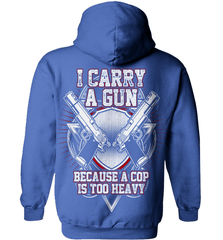 Gun Shirt - I Carry A Gun Because A Cop Is Too Heavy - Shirt Loft - 5