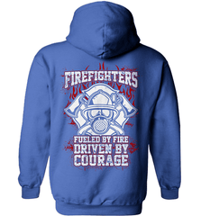 Firefighter Shirt - Firefighters: Fueled By Fire, Driven By Courage - Shirt Loft - 5