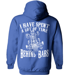Biker Shirt - I Have Spend A Lot Of Time Behind Bars - Shirt Loft - 5