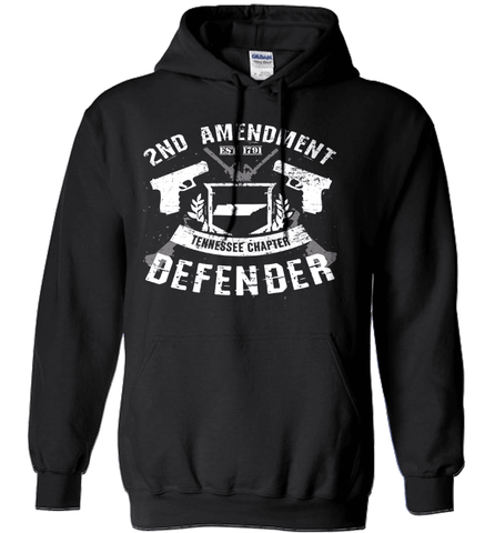 Gun Shirt - 2nd Amendment Tennessee Chapter Defender