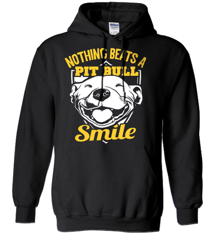 Pit Bull Shirt - Nothing Beats A Pit Bull Smile