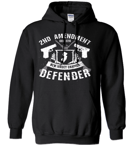Gun Shirt - 2nd Amendment New Jersey Chapter Defender