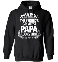 Grandpa Shirt - This Is What The World's Greatest Papa Looks Like! - Shirt Loft - 1