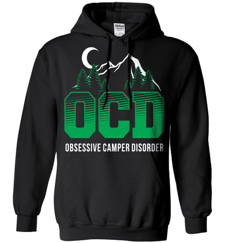 Camping Shirt - (OCD) Obsessive Camper Disorder