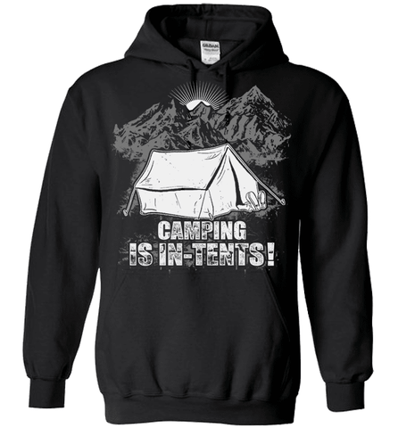 Camping Shirt - Camping Is In-Tents!