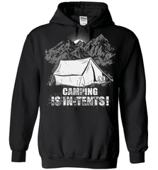 Camping Shirt - Camping Is In-Tents! - Shirt Loft - 1