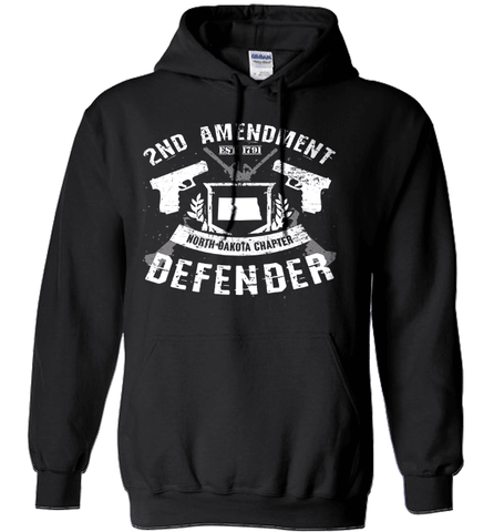 Gun Shirt - 2nd Amendment North Dakota Chapter Defender