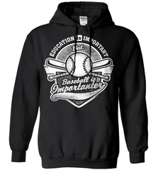 Baseball Mom Shirt - Education Is Important But Baseball Is Importanter - Shirt Loft - 1
