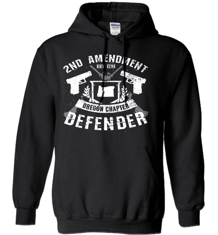 Gun Shirt - 2nd Amendment Oregon Chapter Defender
