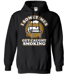 BBQ Shirt - I Sometimes Get Caught Smoking - Shirt Loft - 1