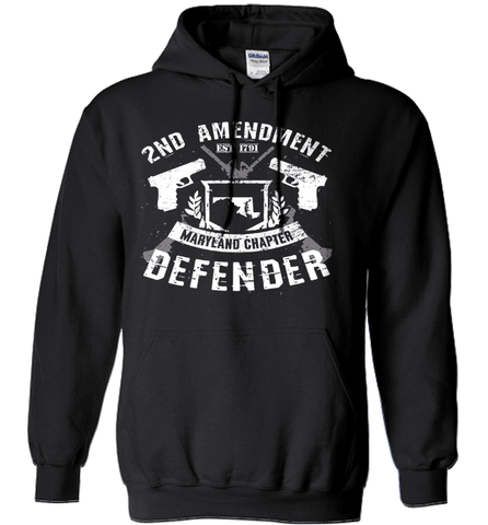 Gun Shirt - 2nd Amendment Maryland Chapter Defender