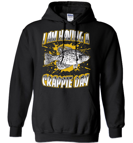 Fishing Shirt - I Am Having A Crappie Day