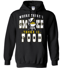 BBQ Shirt - Where There Is Smoke, There Is Food - Shirt Loft - 1