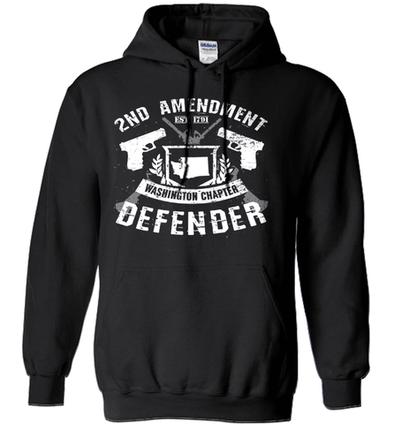 Gun Shirt - 2nd Amendment Washington Chapter Defender