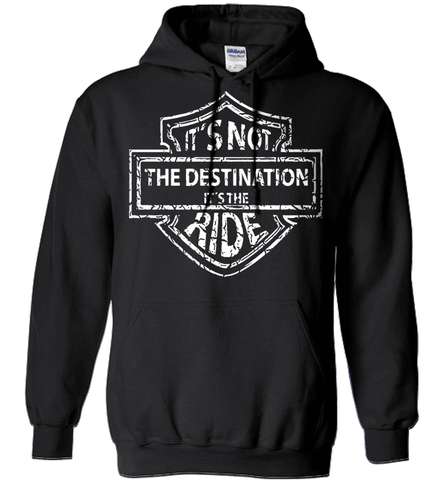 Biker Shirt - It's Not The Destination. It's The Ride